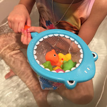 New Baby Play in the Water Bath Toy Soft Rubber Bathroom Aqua animal Water Squeezed Fishing Play Toy Set(China)