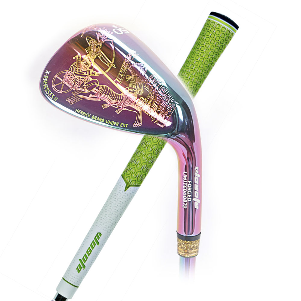 Golf Wedge Egyptian Culture Right Handed Unisex Colorful Color Degree Steel Shaft Golf Club