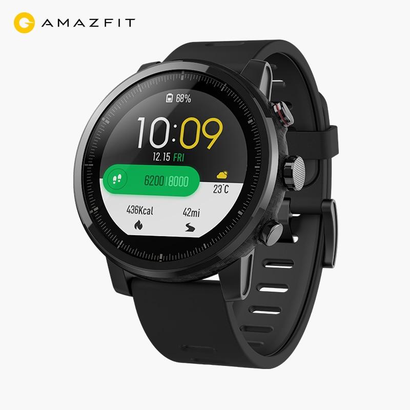 Original Huami Amazfit Smart Watch 2 Running Watch GPS Xiaomi Chip Alipay Bluetooth 4.2 Bidirectional Anti-Lost For IOS/ Android smart baby watch q60s детские часы с gps голубые