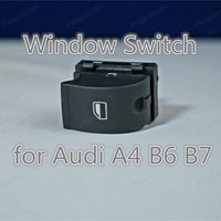 Polarlander Window Lifting Switch Electric Window Switch 8ED959851 8ED959855 for A/udi A4 B6 B7 Left Front Door Master