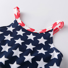 4th of July Girl Sleeveless Beach Dress