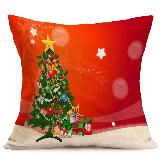 hyha christmas decorations cushion cover xams sock christmas tree socks home decorative pillows cover nordic simple - Christmas Decorative Pillow Covers
