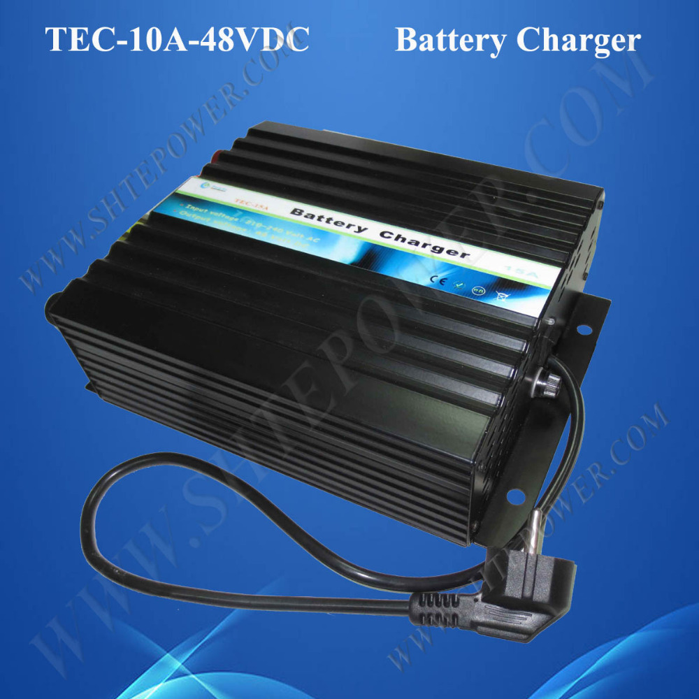 Three stage AC to DC 48v 10A charger for font b car b font font b
