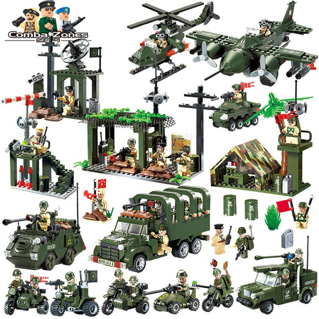 Enlighten Military Building Blocks