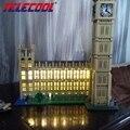 Luz led para arriba el kit para lego 10253 y lepin 17005 ciudad creador Big Ben Modelo Kit de Construcción figura Bloques de Ladrillos de Juguete Conjunto