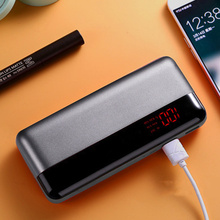 цены на 20000mAh Power Bank Mobile Phone Charger For Xiaomi Mi Samsung iPhone Huawei Powerbank Dual USB with Digital Display Pover Bank  в интернет-магазинах