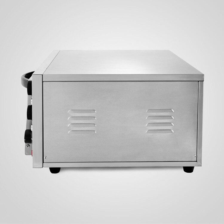 Conservação de energia Moderna Design Forno de Pizza Deck Single 2kW Cozimento Elétrica Comercial - 6