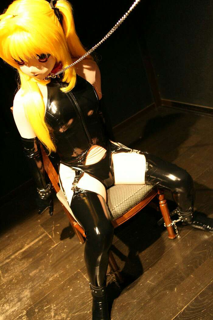 Anime Cosplay Maid Outfit PVC Installed Four Sets Of Siamese