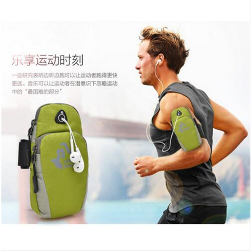 Sports Arm Bag Fitness Exercise Convenient Mobile Phone Headset Carrying Fitness Running Training Arm Bag Dustproof Use Apple