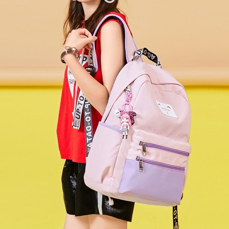 Casual Women Backpack USB Charging Backpacks School Bags For Teenagers Girl Laptop Backpack mochila feminina Students Satchel