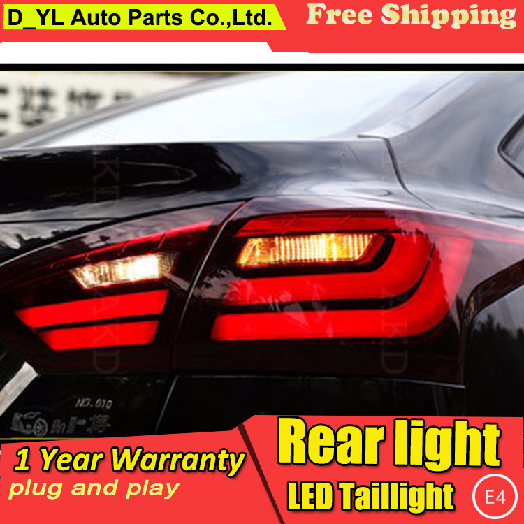 D_YL Car Styling for <font><b>Ford</b></font> <font><b>Focus</b></font> <font><b>Taillights</b></font> BMW Design 2012-2014 <font><b>Focus</b></font> LED Tail Lamp Rear Lamp DRL+Brake+Park+Signal led light image