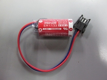 5pcs/lot NEW Maxell ER17/33 ER 17/33 3.6V 1600mah PLC industrial control lithium battery with plug