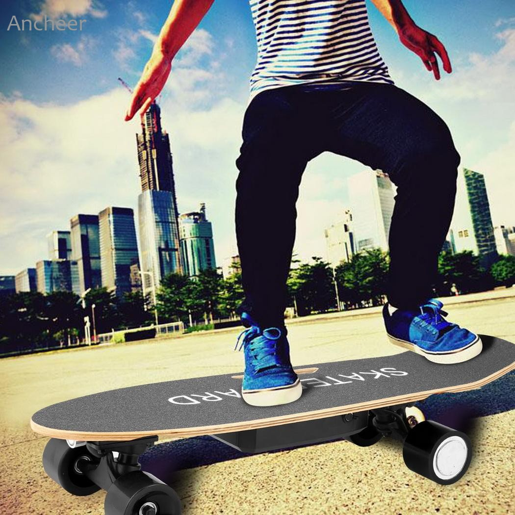 Electric Skateboard Outdoor Board with Bluetooth Speaker Front Light Remote Controller E-Skateboards 40km h 4 wheel electric skateboard dual motor remote wireless bluetooth control scooter hoverboard longboard