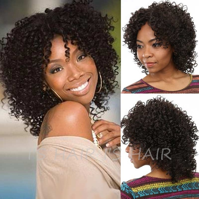 Afro Wigs for Black Women Curly Afro Wig Synthetic Hair Long Curly Hair Wig for Women Sale Cheap African Women's Wigs