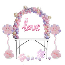 Detachable table arches wedfing arch frame pergola structure for mariage Wedding birthday party decoration balloons stand