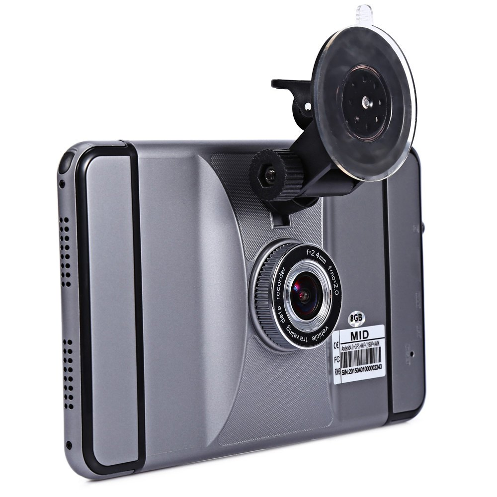 Luxury 7 Inch HD 1080P Car DVR Recorder Car Android PC with Car font b GPS
