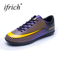 Ifrich Indoor Soccer Shoes For Men 2017 New Mens Football Trainers Cheap Soccer Indoor Shoes Boys