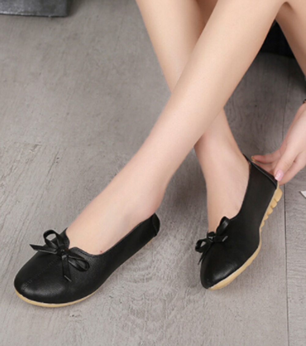 Women Shoes Bow Knot Flats Round Head Shallow Mouth Single Shoes Female Flat Ballet Luxury Black Flat Shoes Women Ladies ShoesWomen Shoes Bow Knot Flats Round Head Shallow Mouth Single Shoes Female Flat Ballet Luxury Black Flat Shoes Women Ladies Shoes