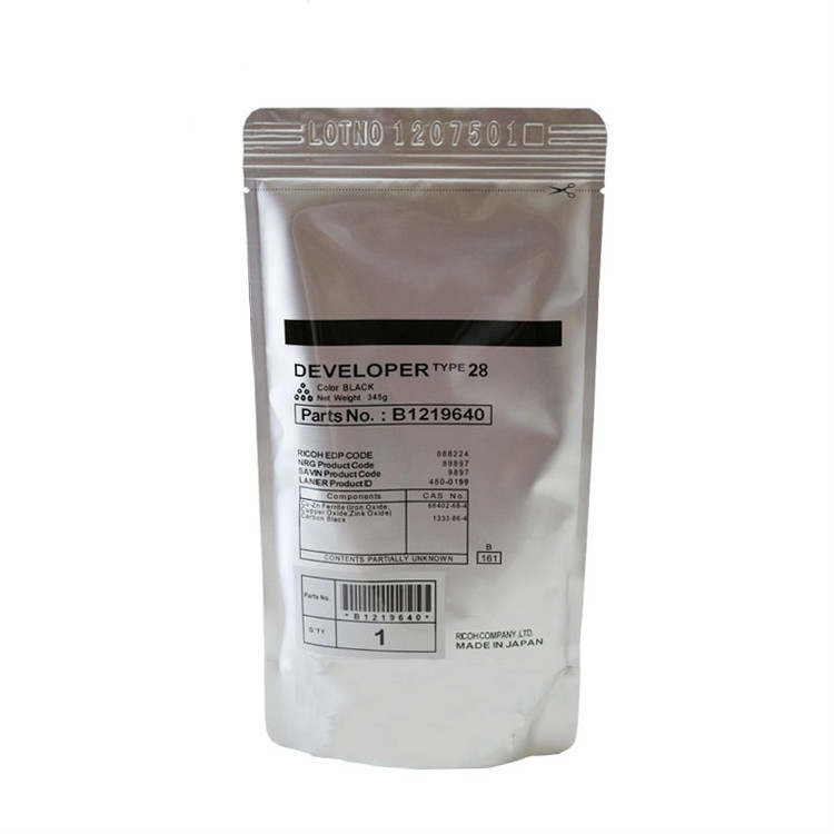 все цены на 1 Pcs Type 28 Developer Original For Ricoh Aficio 1015 1911 2012 2011 2015 2500LN 3030 Printer Copier Parts онлайн