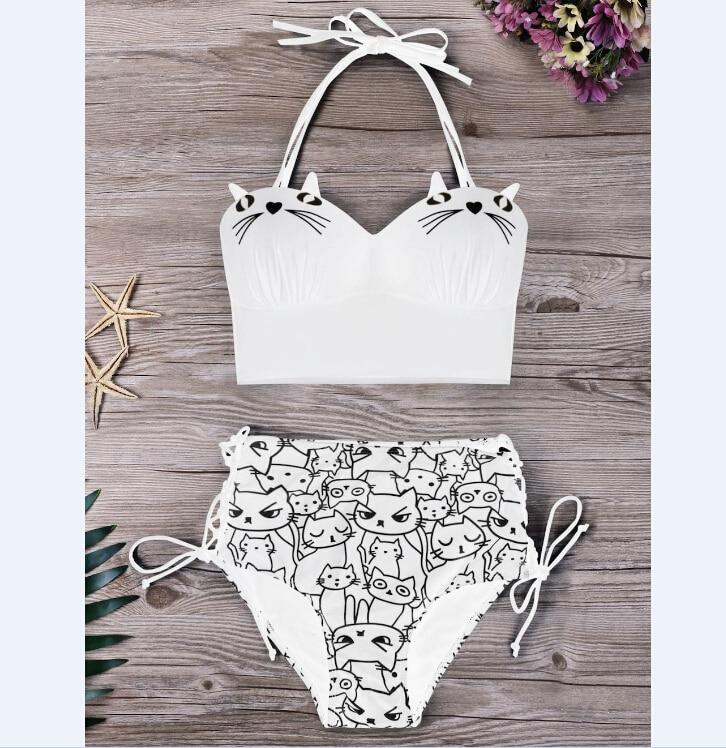 cat bikini