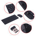 901A Автоматическое Сопряжение Беспроводной USB 2.4 ГГЦ Клавиатура Набор Мышь Регулируемый DPI Удобная Клавиатура Набор Для Компьютера PC