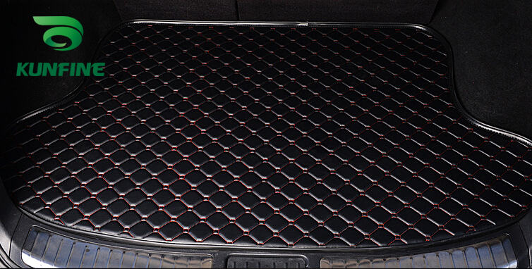 Tapis de coffre de voiture de style de voiture pour KIA CERATO doublure de coffre tapis tapis de sol plateau doublure de cargaison imperméable à l'eau 4 couleurs en option