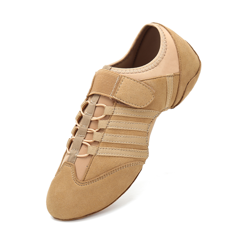 Modern Dance Shoes Woman Spring Latin Jazz Shoes Indoor Dancing Shoes Summer Breathable Sneakers Ladies Party Shoes For Women