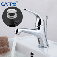 GAPPO 1set Top Quality Deck Mount Basin Water Faucet Mixer Bathroom Sink Faucet Mixer Tap Modern