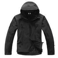 2017 Upgraded TAD V5 0 Shark Skin Tactical Military Jacket Waterproof Softshell Jackets Men Army Hoody