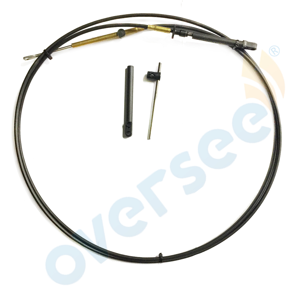11FT Outboard Throttle Shift Cable 897978 -11 For Mercury Outboard Engine Remote Control Box Cable