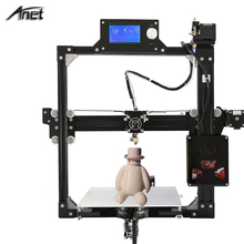 Anet Estructura Metálica De Aluminio A2 Impresora 3D Prusa i3 DIY 3D Kit de Impresora 220*220*220mm/220*270*220mm LCD 2004/12864 Opción