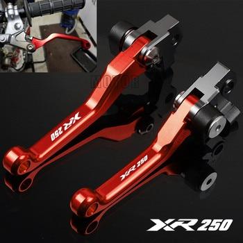 Palancas de embrague y freno para motocicleta, CNC, para Honda XR250MOTARD 2009-2016 XR 1995 XR250