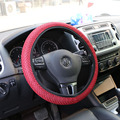 Anti-skid Steering Wheel Cover Ice Silk Cool  Big Mesh for Summer Season Fit All Cars Black Color Wholesale