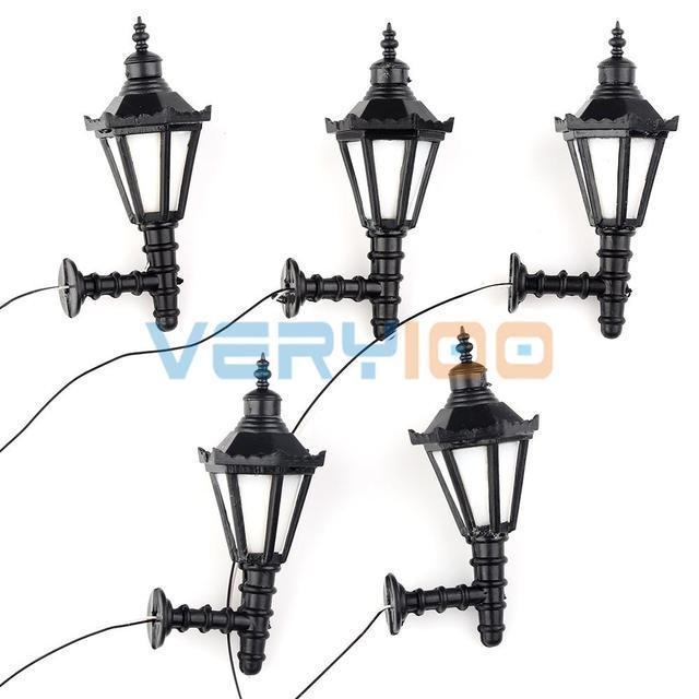 125 Model Led Lamppost Lamps Wall Lights Train Railway Scale Modal