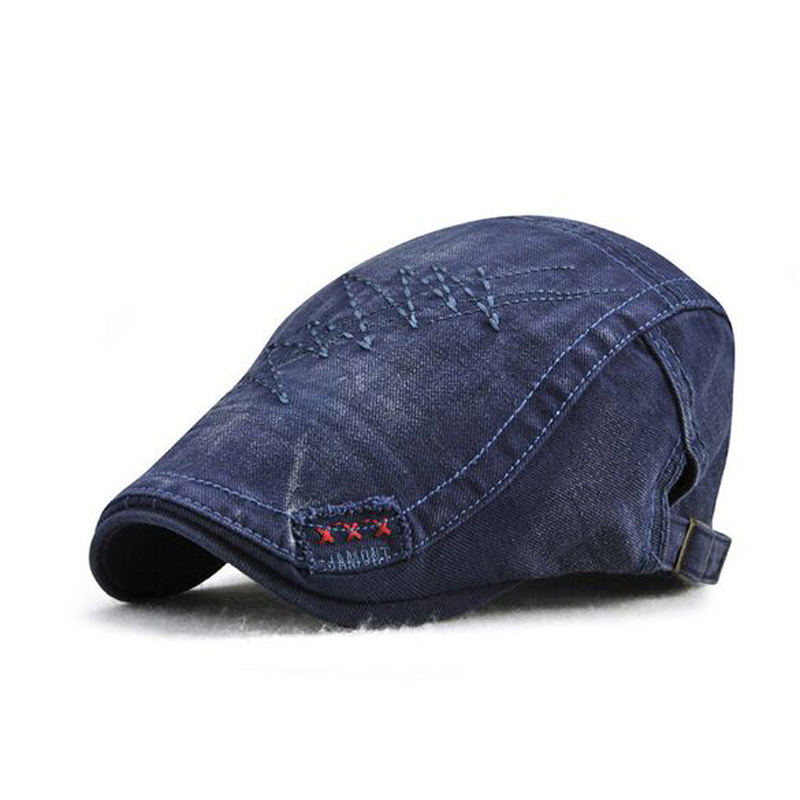XEONGKVI nueva moda boinas de Color puro gorras primavera otoño marca Snapback sombreros de algodón para hombres Casquette de casquillo de pico 56-60 cm