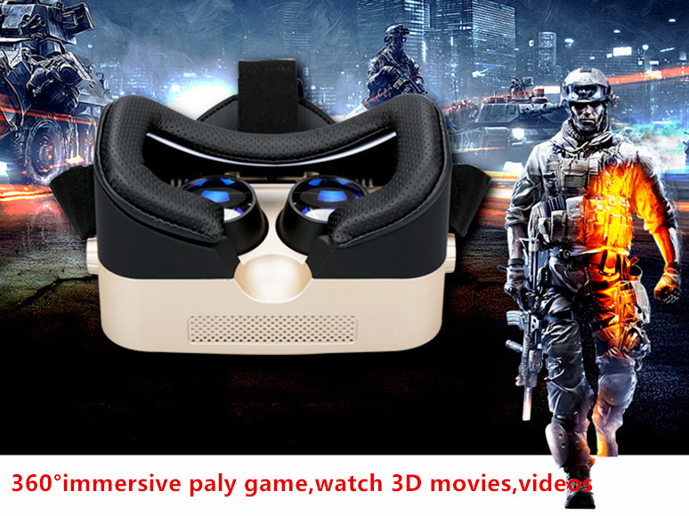 3D Eyelasses Virtual Reality Headset for Xiaomi Huawei Sony Lenovo Anti Bluelight VR Glasses for Immersive Games Movies Videos