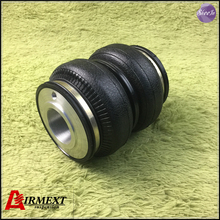 SN142156BL2-BCR-S/AIRLIFT5814 Fit BC BR typecoilover (Thread M53*2)Air suspension Double convolute rubber airspring/airbag