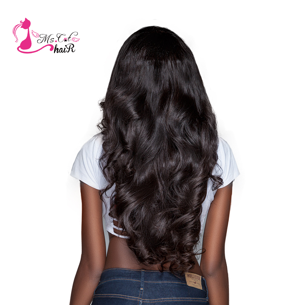 Ms Cat Hair Brazilian Body Wave 1 Piece 100 Human Hair