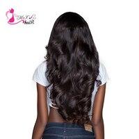 Ms Cat Hair Brazilian Body Wave 1 Piece 100% Human Hair Weave Bundles Natural Color Non Remy 8