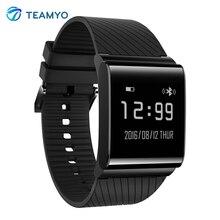 Teamyo X9 плюс часы-пульсометр cardiaco умный Браслет крови кислородом шагомер Smart Band трекер для мужчин женщина