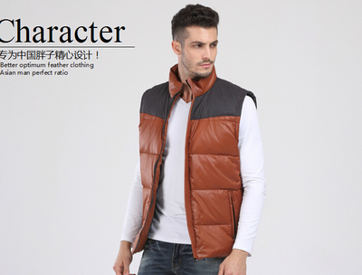 new arrival down vest mens big  winter warm thick casual large jacket  brand quality plus size XL XXL 3XL 4XL 5XL 6XL 7XL 13XL-in Vests & Waistcoats from Men's Clothing    2