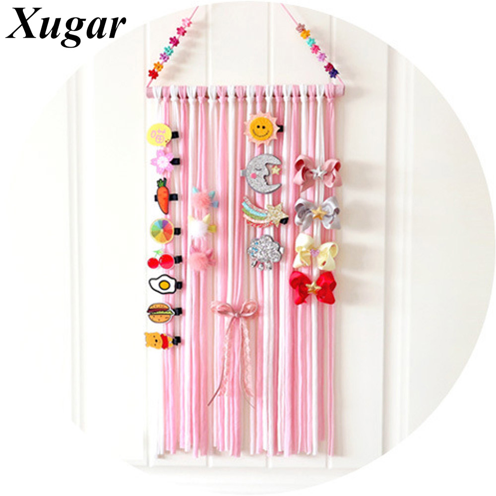 Xugar Girls' Hair Bows Storage Belt Barrette Hairband Hair Clips Hair Accessories
