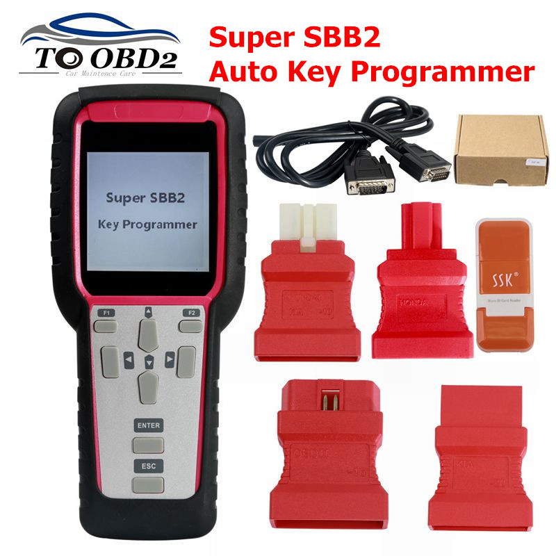 powerful function Super SBB2 Key Programmer Oil/service Reset/TPMS/EPS/BMS Handheld Scanner Support English Only-in Auto Key Programmers from Automobiles & Motorcycles on