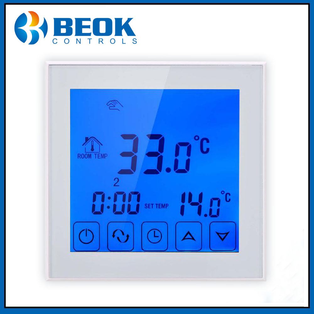 Beok TDS23-WP Water Underfloor Heating Thermostat Thermoregulator Programmable Room Temperature ControllerBeok TDS23-WP Water Underfloor Heating Thermostat Thermoregulator Programmable Room Temperature Controller