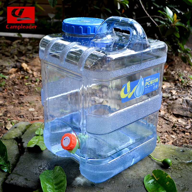 Campleader 5 18L PC Wine Water Bucket Outdoor Camping Car Durable Hiking Picnic Handy Collapsible Water Bottle Container CL179