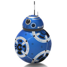 BB-8 Star Wars: последний джедай робот с светодиодный света танцевальной музыки флэш-интеллектуальные телеуправления Коллекционная модель игрушки 8 дюйм(ов) S561