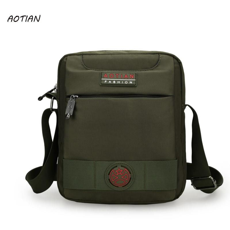 AOTIAN Men bag 2019 Mode Herren Umhängetaschen, hochwertige Nylon Casual Umhängetasche Business Herren Reisetaschen Handtaschen