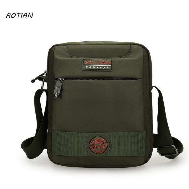 186f1575e3f6 AOTIAN Men bag 2019 fashion men s shoulder bags