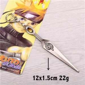 J loja quente anime naruto chaveiro de metal kakashi ninja kunai quente 9.5cm cosplay chaveiro chaveiro titular da chave do carro llaveros jóias