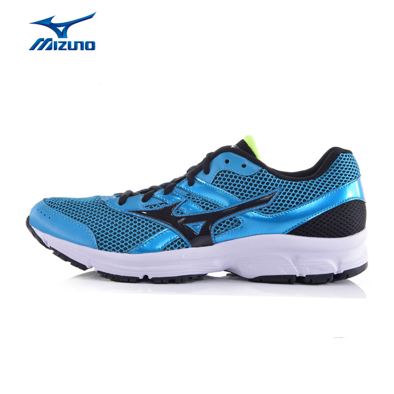 MIZUNO Men SPARK Mesh Breathable Light Weight Cushioning Jogging Running Shoes Sneakers Sport Shoes K1GR160371 XYP317 mizuno men s sports beathable cushioning soccer shoes monarcida fs as light sport shoes sneakers p1gd152301 yxz003